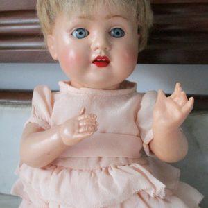 Celluloid Schutz Marke 28/30 Doll