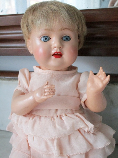Celluloid Schutz Marke 28/30 Doll