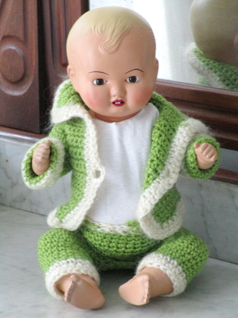 Baby celluloide ICSA Doll
