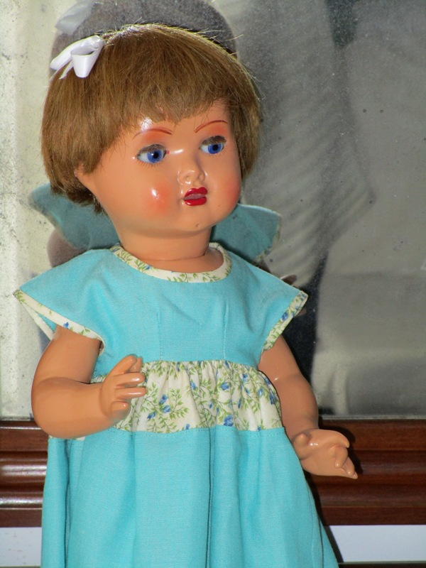 Spanish papier-mÂchÉ doll called mariquita perez