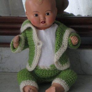 BebÉ de celuloide de la marca icsa
