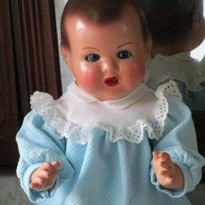 Spanish papier-mÂchÉ baby doll
