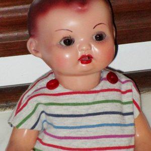 Ceramic paste doll