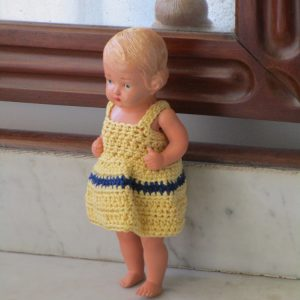 Small celluloid doll