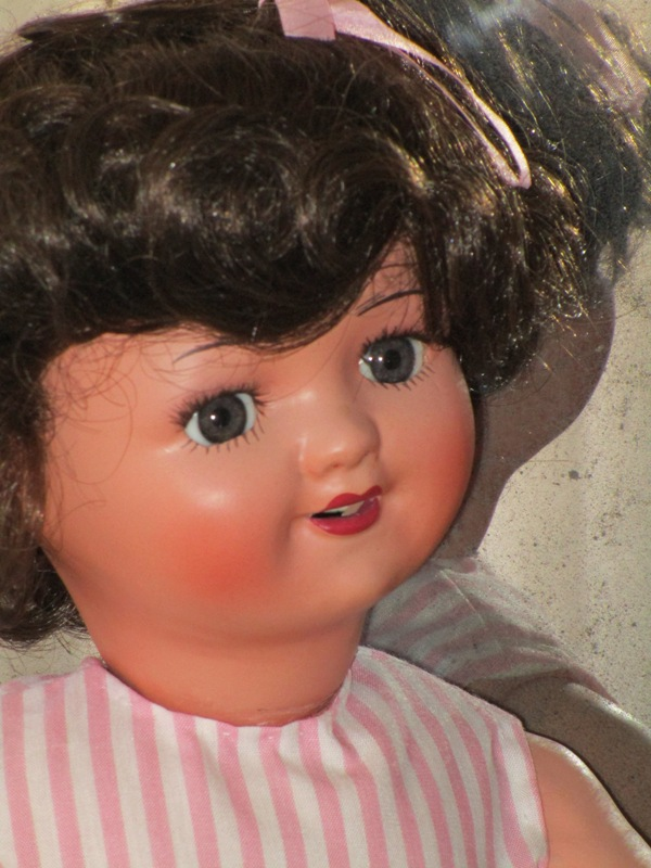 Spanish papier-mÂchÉ doll
