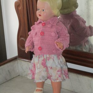 Celluloid-headed doll