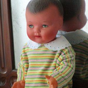 Bebe de celuloide marca molino frances