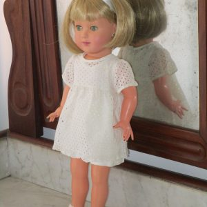 Celluloid doll named linda