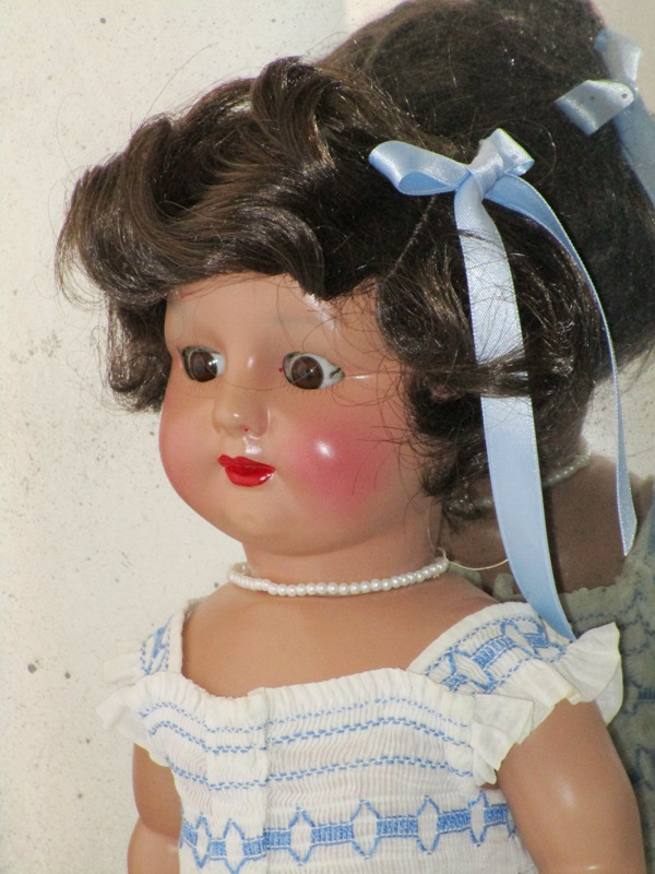 Spanish doll papier-mÂchÉ