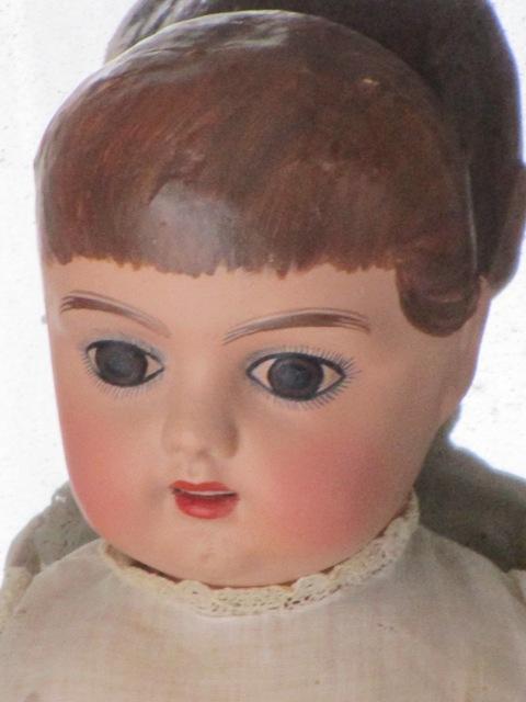 Papier-mâché Pepon Doll