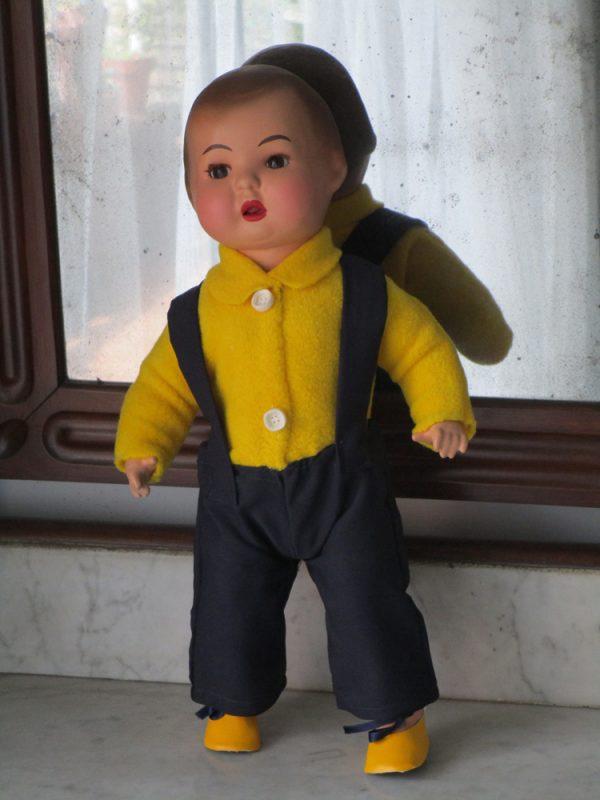 Papier-mÂchÉ doll