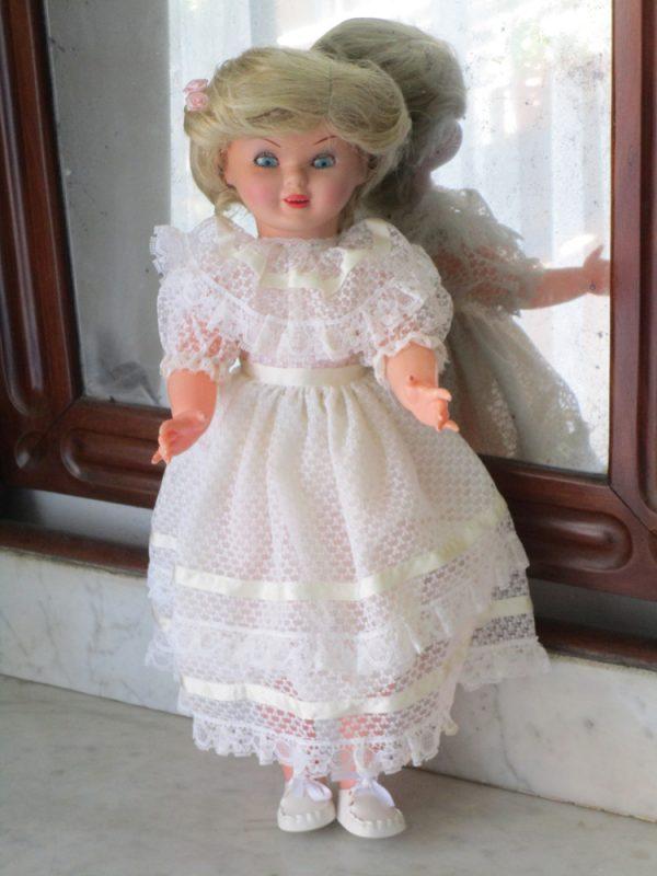 Celluloid-headed doll