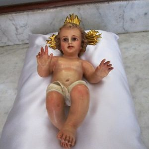 Christ child manufactured in olot