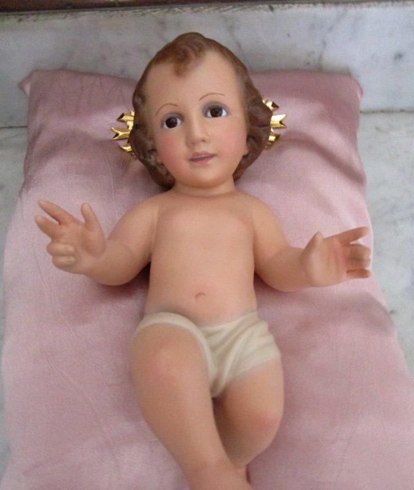Niño jesús marcado dimosa