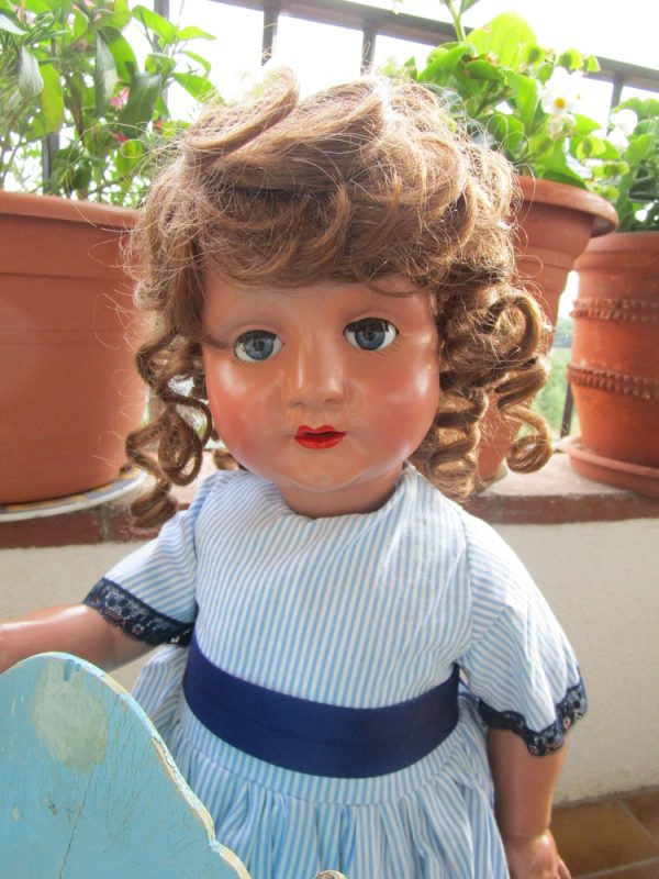 Spanish walking doll 50's