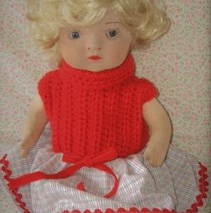 Clothing doll 1930s