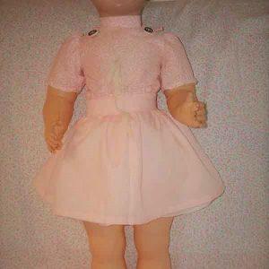 Italian celluloid doll named mencia