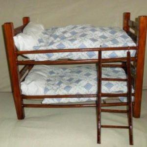 Wooden bunk