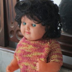 Celluloid Luisito ICSA Doll