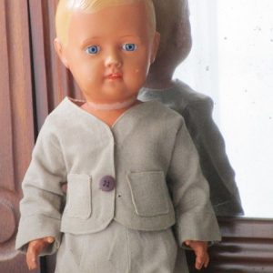 Celluloid Cellba Germany Doll