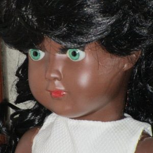 Celluloid Linda Carla Black Doll