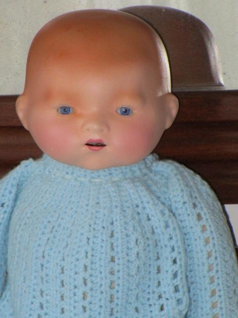 Antique Bebé bisque type Baby-Lo