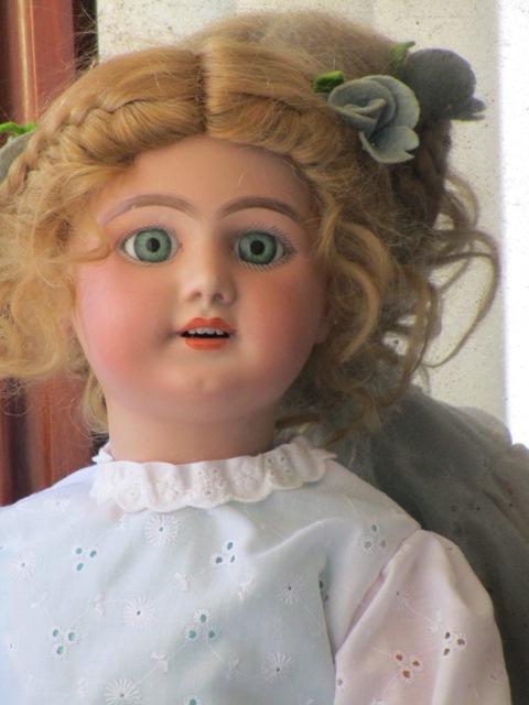 muñeca andadora antigua biscuit