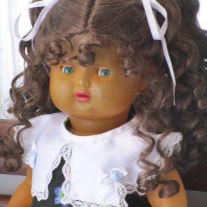 muñeca bebe luisita celuloide icsa