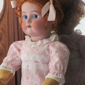 Antique Doll Bisque marked Cuno Otto Dressel 1912