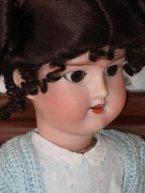 Antique doll bisque Armand Marseille No. 390