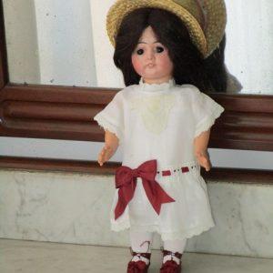 Antique Doll bisque marked No. 0