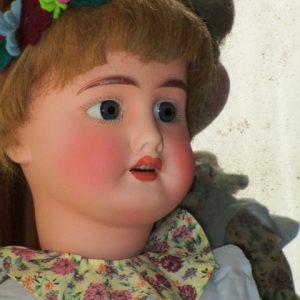 Antique Doll bisque marked No. 190