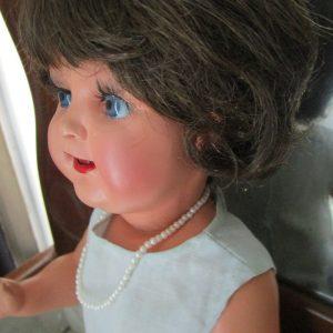 muñeca celuloide Icsa ojos cristal