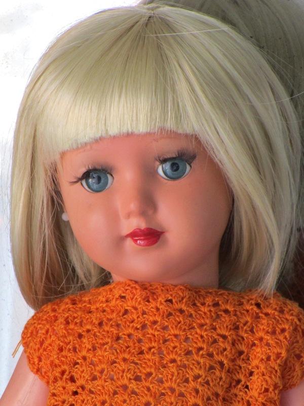 muñeca celuloide sirenita icsa