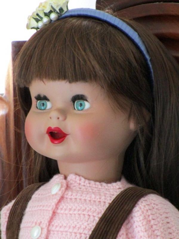muñeca guendalina celuloide famosa