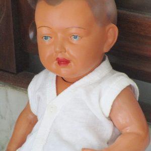muñeco bebe celuloide schildkrot 35