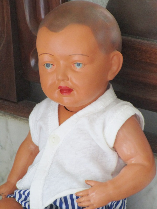 Antique doll Celluloid Schildkrot nº 35