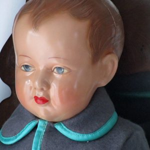 Doll French celluloid Petitcollin