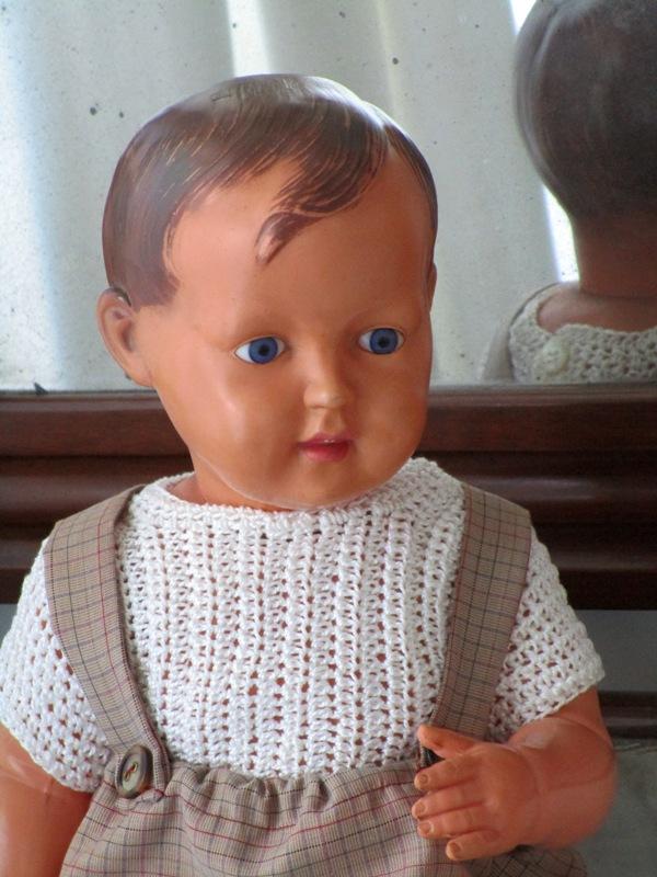 Antique Doll Celluloid Schildkröt nº 45