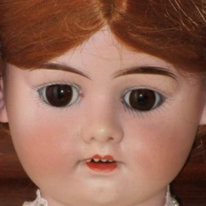 Antique Doll bisque marked No. 4