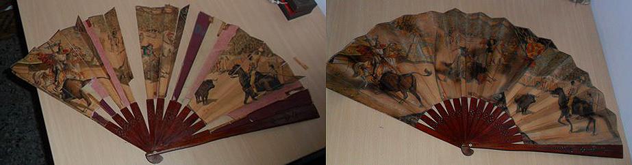 Restauración de abanicos de papel