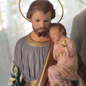 St. joseph of nazareth with the baby jesus