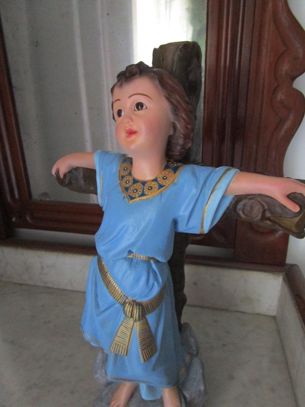 Infant Jesus the Cross