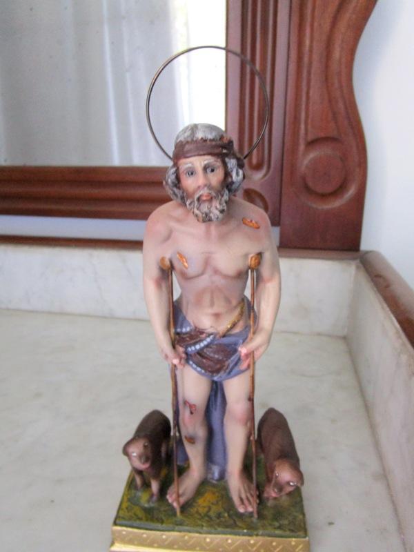 Statue of saint lazarus