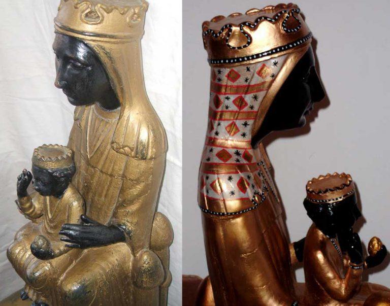 Restauración de imagenes religiosas