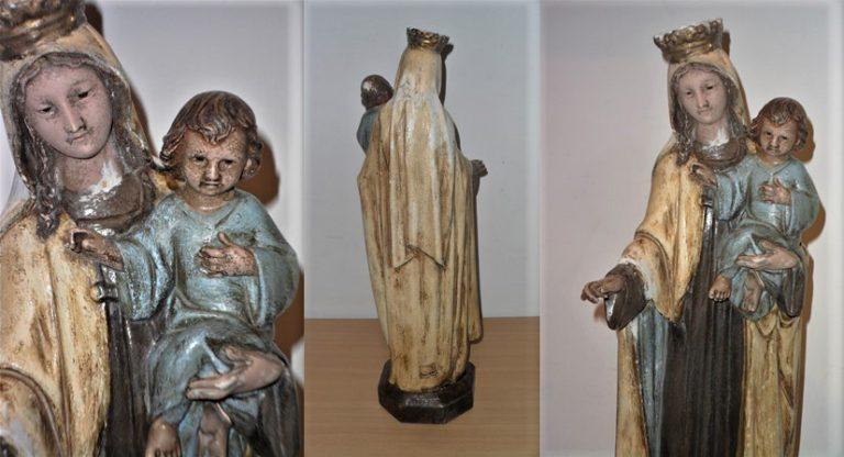 Imatge de la Mare de Déu del Carme amb el Nen Jesús