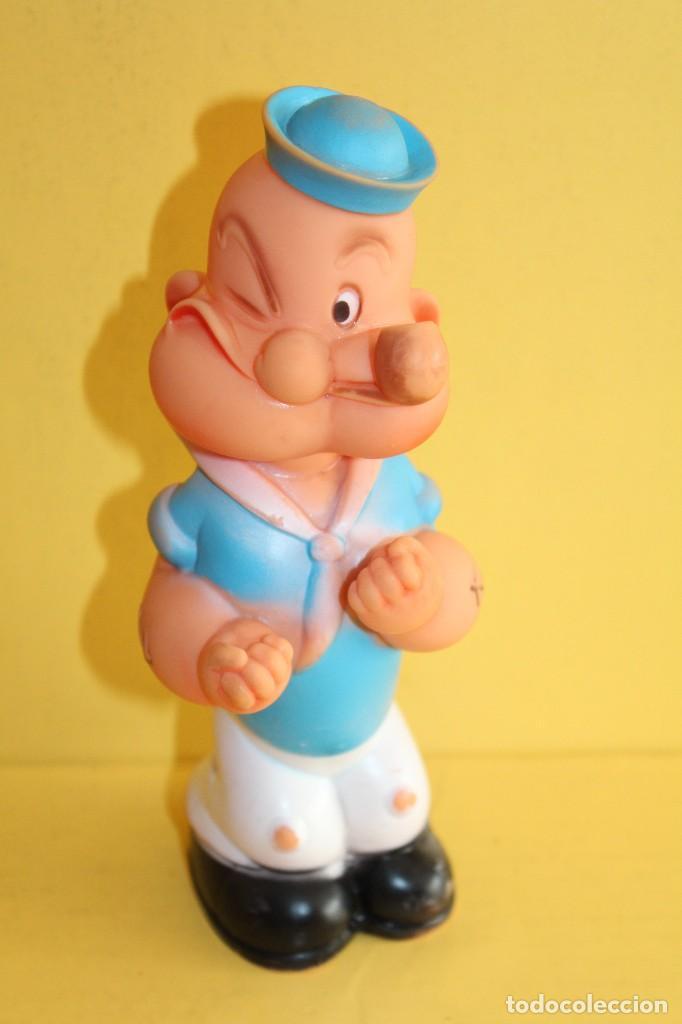 Todocolección Figura de goma popeye marca farmi - año 1977