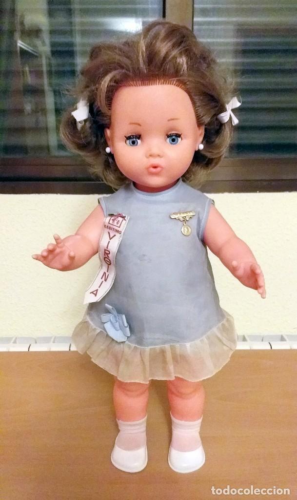 muñeca Virginia que da Besos