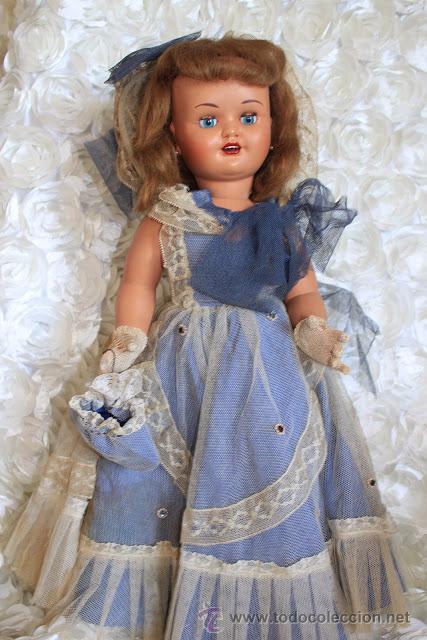 muñeca Maricela de plástico