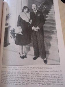 Foto de boda de Leonor Coello, 1929